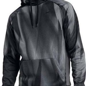 Nike dry fit pull over hoodie men's size large